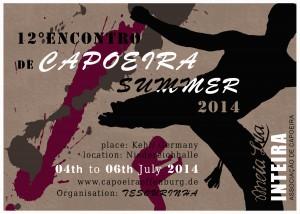 Flyer Encontro 2014
